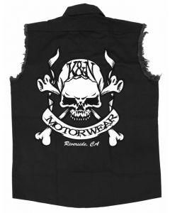 88-6061-L Shirt; Skull & Bones; Black