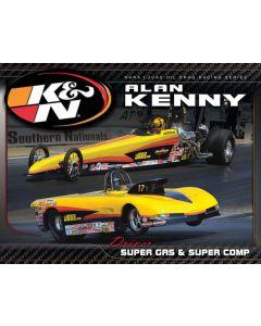 89-11641 Hero Card; Alan Kenny, 8-1/2 X 11
