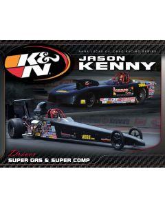 89-11642 Hero Card; Jason Kenny, 8-1/2 X 11