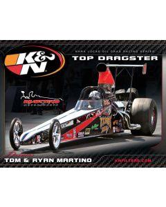 89-11644 Hero Card; Tom/ Ryan Martino, 8-1/2 X 11
