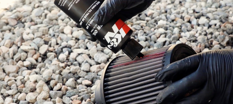 How to re oil a K&N air filter