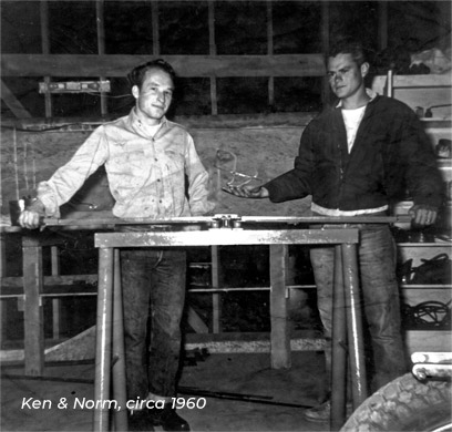 K&N 50th - Ken and Norm