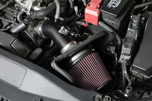 Installing K&N intake systems typically takes less than 90 minutes