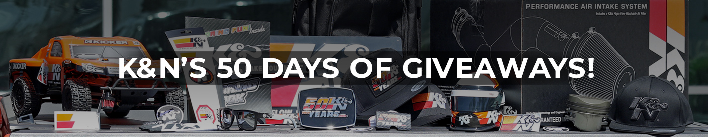 K&N 50 Days of Giveaways Contest