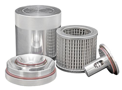 A K&N billet aluminum washable oil filter