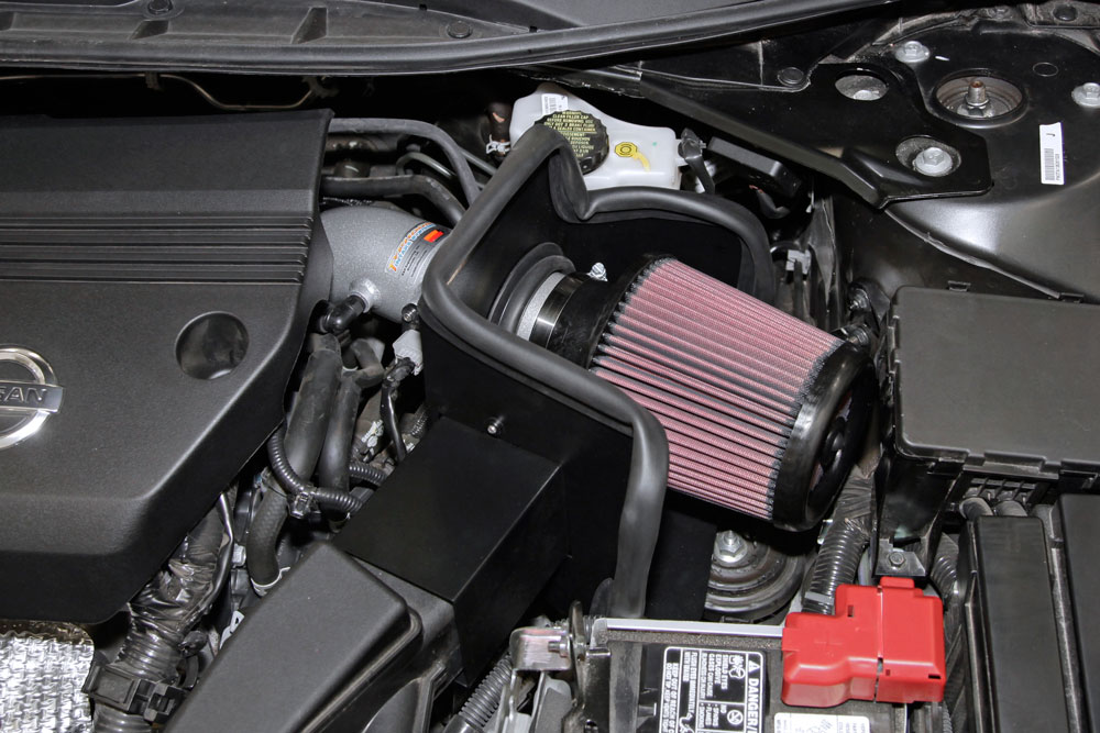 K/&N 69-7064TS Performance Cold Air Intake Kit for 2013-2016 Nissan Altima 2.5L