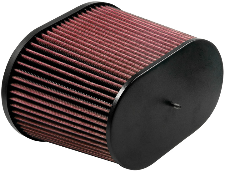 RC motorcycle...off set air cleaner New