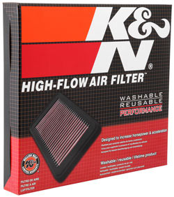33-2478 K/&N Replacement Air Filter fits Nissan ALTIMA 2.5L-L4; 2013