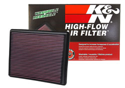 Improve Chevy Silverado performance with a K&N Replacement Air Filter