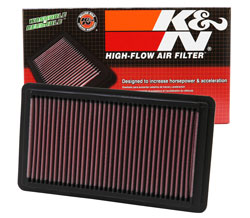 Unlock the potential of your 2006-2011 Honda Civic Si with a K&N Replacement Air Filter