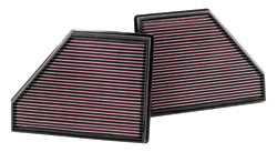 Replacement Air Filter for 2007, 2008, 2009 & 2010 BMW X5 4.8 liter V8 engine