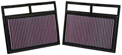K&N 33-2412 Replacement air filter for a wide range of 2002 - 2016 Mercedes Benz and Maybach makes and models