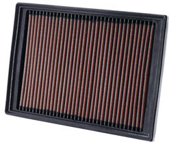K&N's 33-2414 Replacement Air Filter for 2008 through 2016 Land Rover LR2