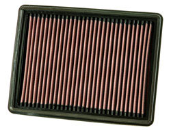 Replacement air filter for the 2008, 2009 and 2010 Jeep Grand Cherokee diesel