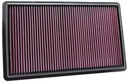 K&N's 33-2432 replacement panel air filter.