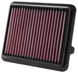 Replacement air filter for 2009 to 2014 Honda Insight and 2011 to 2015 Honda Jazz