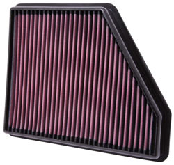 K&N's 33-2434 replacement air filter for 2010 to 2015 Chevy Camaro 3.6L and 6.2L