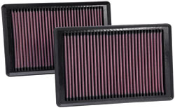 Replacement Air Filter for 2010 through 2015 Jaguar XK and XKR 5.0L