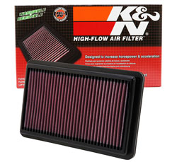 Let your Honda Civic Si K24Z7 2.4L i-VTEC breathe in power with a K&N Air Filter