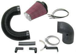 K&N air intake system 57-0669 for Toyota Aygo, Peugeot 107 and Citroen C1 with 1.0 liter engines
