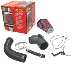 K&N Filters 57-0673 air intake system for 2005 through 2008 Toyota Yaris, Toyota Aygo, Peugeot and Citroen