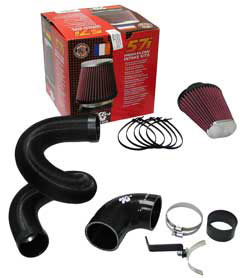 K&N Performance Induction Kit 57-0677 for the 2007 to 2011 Renault Twingo with a 1.2 liter engine