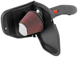 K&N air intake for 2008 and 2009 Jeep Liberty with the 3.7L V6 enigne