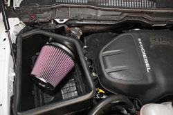 The 57-1571 Air Intake System after installation
