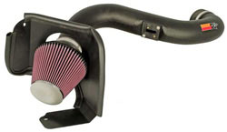 K&N's 57-2573 air intake system for 2006, 2007 and 2008 Ford Explorer 4.6L