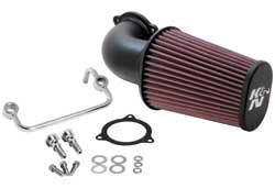 K&N's 63-1122 performance air intake system for 2008, 2009, 2010, 2011 & 2012 Harley Davidson Touring Models