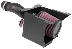 K&N's 63-1123 air intake system for the Yamaha YFZ450 ATV