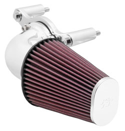 Bright Mirror Air Inatke for 2001 to 2015 Harley Davidson Softail models
