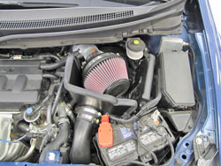 Take a 2012-2015 Honda Civic R18Z1 1.8L from mild to wild with a K&N 69-1020TS Typhoon Intake