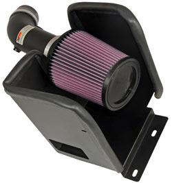 K&N Engineering 69-2543TTK air intake system for the Dodge Avenger with a 3.5 liter V6 engine
