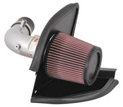 K&N's 69-6011TS air intake system for the 2007, 2008 and 2009 Mazdaspeed 3