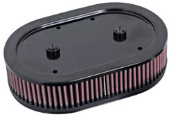 K&N's E-3040 Replacement air filter for K&N Assemblies on 2004-2014 Harley Davidson Sportsters