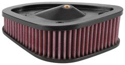 K/&N HD-1717 Air Filter Unique Cotton Gauze