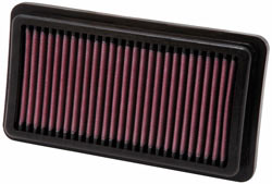 K&N High-Flow Air Filter, number KT-6907, for 2007-2009 690 SMC and 2008-2011 Duke Motorcycles