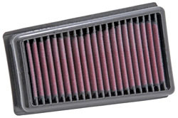 Replacement air filter for the KTM 690 SMC