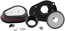 K&N high flow complete air cleaner assembly RK-3931 for Harley Davidson Dyna FXD model motorcycles