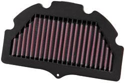 Racing air filter for Suzuki GSX-R750 and GSX- R600