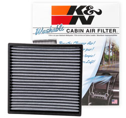 Restore air quality in your 2006–2017 Honda Civic with a K&N VF2001 Cabin Air Filter
