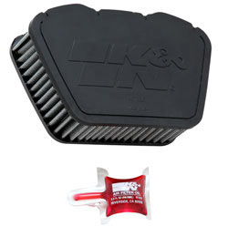 K&N's YA-1307 replacement air filter for the 2007- 2016 Yamaha XVS