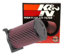 YA-7016 filter side view and box