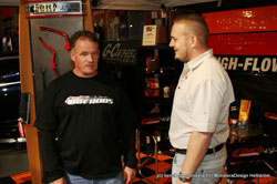 Bernt Karlsson of American Hot Rod Garage visited the Aaltonen Motorsports at Finland's X-Treme Show