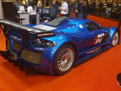 The Gumpert Apollo Sport is a street-legal race car with a base of 700 hp.