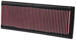 K&N replacement air filter for Mercedes Benz G Class, S Class, R Class, SL and SLK Class, GL and GLK Class and C Class models