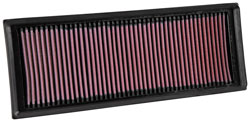 K&N 33-3039 replacement panel air filter for Citroen and Peugeot