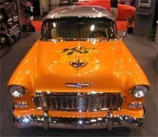 K&N 1955 Chevy on display at SEMA in November 2005
