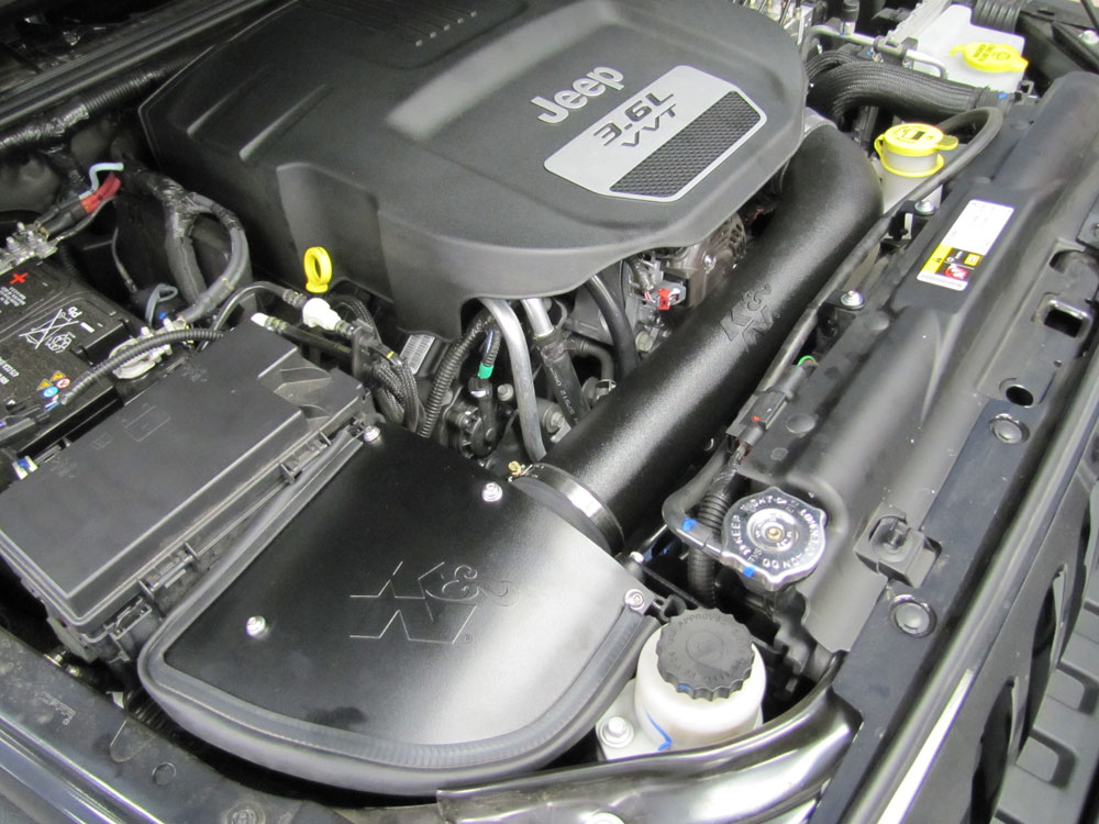 2012 To 2016 Jeep Wrangler Owners Gain Estimated 12 Horsepower With K N Air Intake
